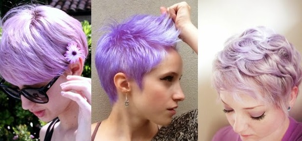 choosing a convenient hair color